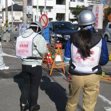 女性社員による安全パトロール隊