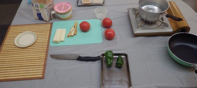 久しぶりの子育て応援料理教室でした!