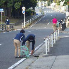 町内一斉清掃に参加しました。